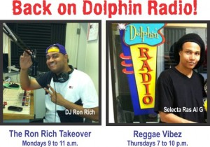 Radio DJs Ron Rich and Al G