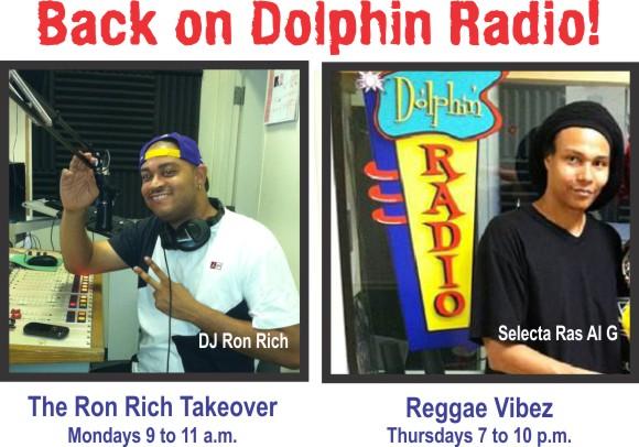 Radio DJs Ron Rich and Al G